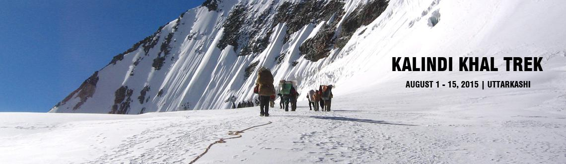 Book Online Tickets for Kalindi Khal Trek, Uttarkashi. Kalindikhal Pass Trek, well known as the Daddy of all the treks in Garhwal Himalaya in Uttarakhand State is one of the most challenging and adventurous treks that covers a total distance of 99 kms. The route of this tough trail starts from Gangotri a