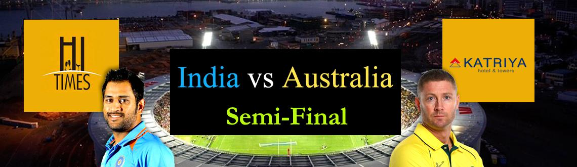 India vs Australia Semi-Finals in World cup 2015