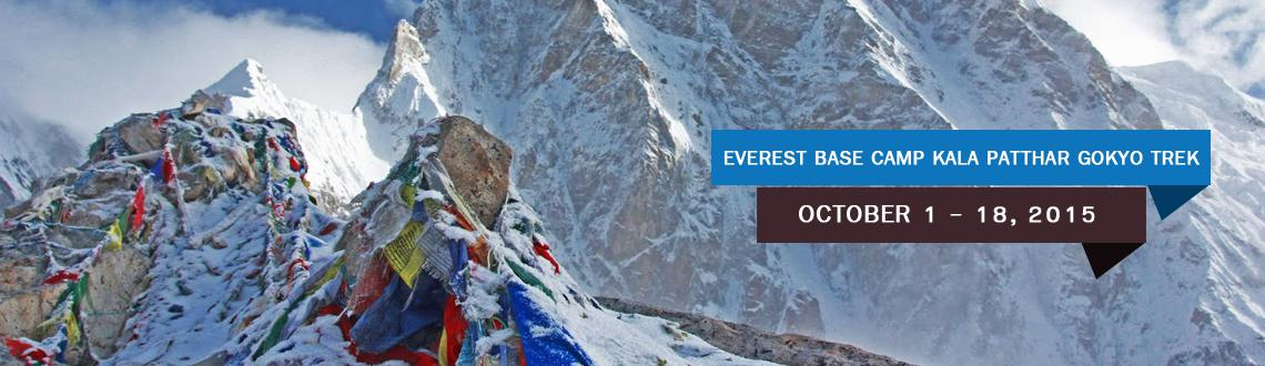 """Book Online Tickets for Everest Base Camp - Kalapattar  Gokyo Tr, . Mt Everest does not need any introduction, the highest peak in the world is not only the most sort after mountain to climb; even the Trek to BC is equally popular. It is referred as 'Mother of all Treks"""" The sheer presence of the world&rs"""
