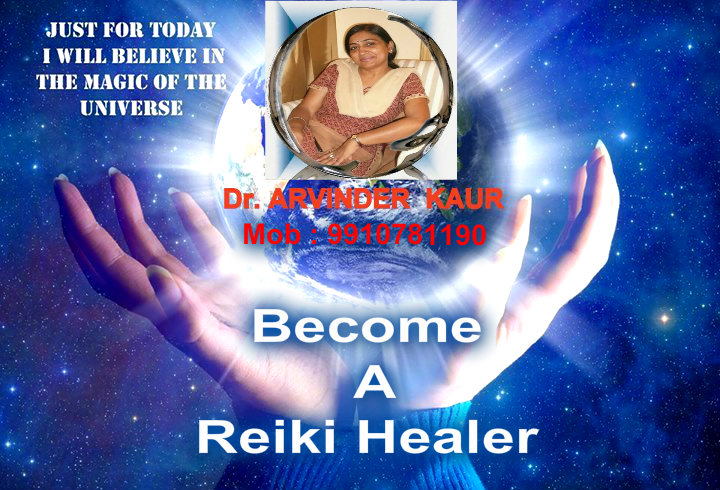 Become Reiki Healer Level I By Dr Arvinder Kaur Newdelhi