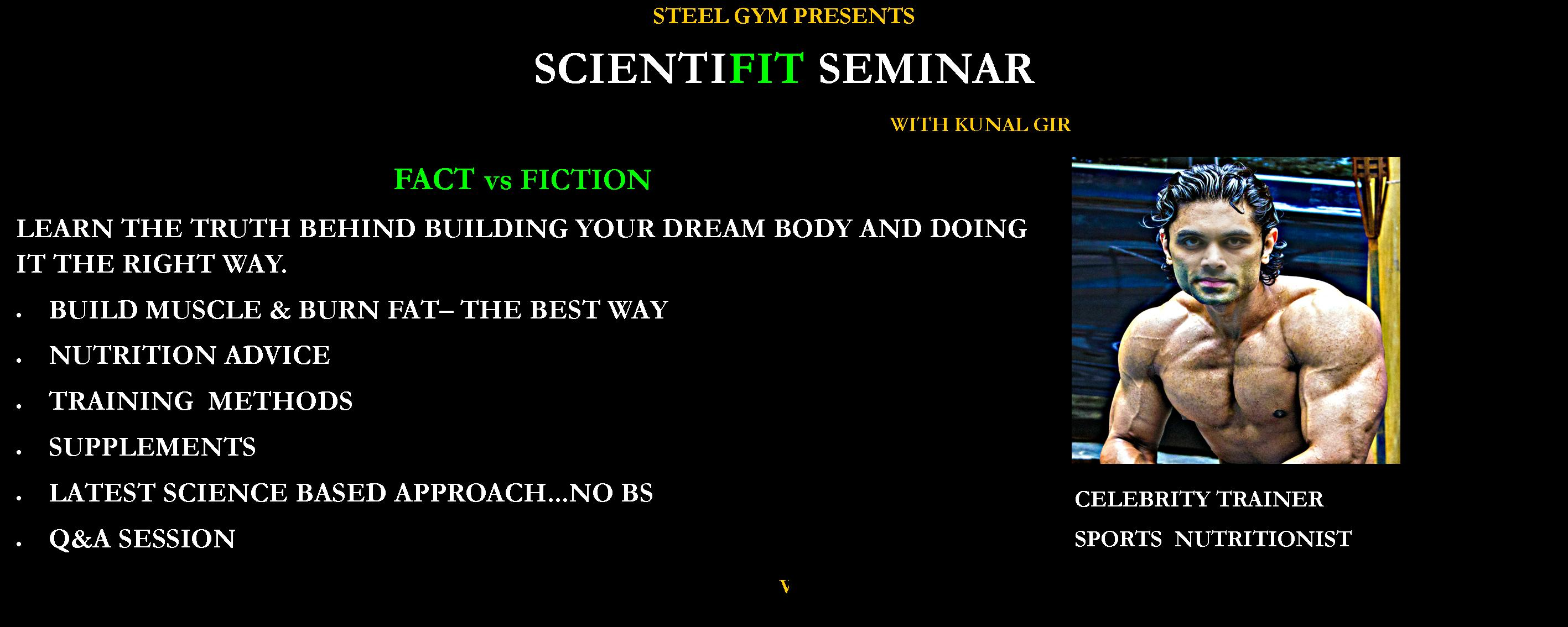 FITNESS SEMINAR with KUNAL GIR