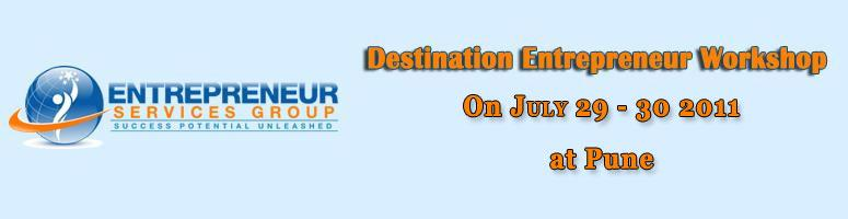 Book Online Tickets for Destination Entrepreneur Workshop - Pune, Pune. Destination Entrepreneur Workshop The most comprehensive entrepreneur workshop offering for learning the practical and proven skills that are needed to build a profitable business AND IT is FREE  Dear Friend, Are