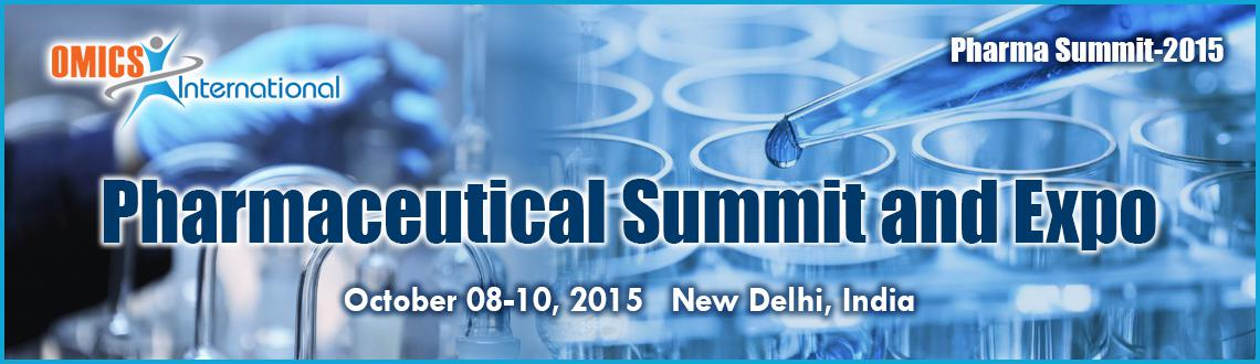 Book Online Tickets for Pharmaceutical Summit and Expo, NewDelhi. Pharma Summit-2015will bring together top dynamic pharmaceutical representatives under one roof that will address the key issues of the global market. It is a scientific platform to meet fellow key decision makers all-around the Academic Instit