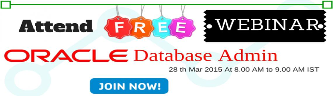 Attend  Free Webinar Insights on  Oracle DBA