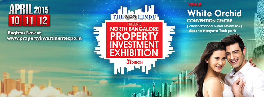 Book Online Tickets for  The Hindu North Bangalore Property Inve, Bengaluru. The Hindu is hosting the North Bangalore Property Investment exhibition on10th to 12th of April at White Orchid convention centre Next to Manyata Tech park.