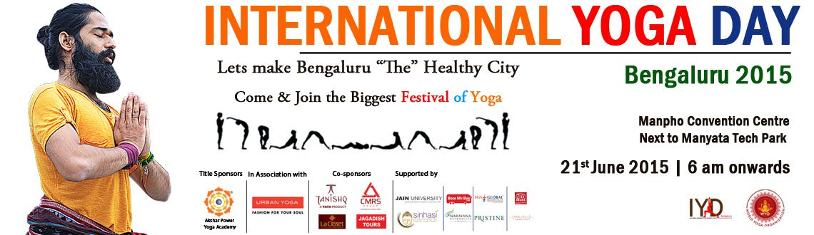 International Yoga Day Bengaluru 2015