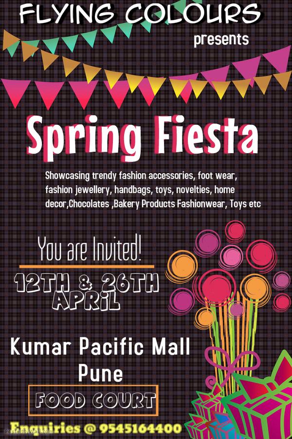 Spring Fiesta-A Fun Flea Market @ Kumar Pacific Mall