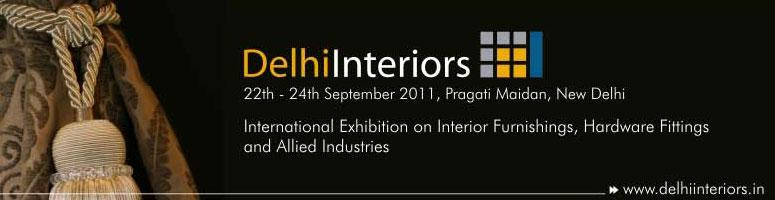 Book Online Tickets for Delhi Interiors, 22nd to 24th September,, NewDelhi.    DelhiInteriorsis a specialized leading international exhibition which covers the entire spectrum of products and services within the building and interiors industry. This exhibition welcomes key industry players, including furniture and c