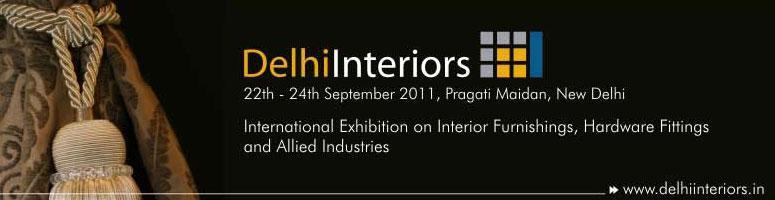 Delhi Interiors, 22nd to 24th September, New Delhi