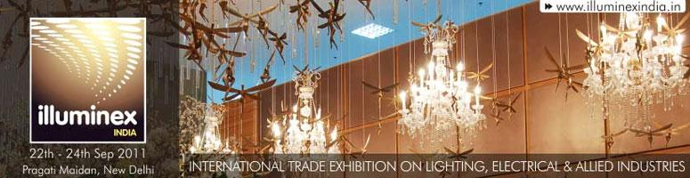illuminex India, 22nd to 24th September, New Delhi