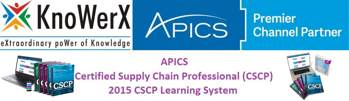 Book Online Tickets for APICS 2015 CSCP Learning System, Any. The APICS Certified Supply Chain Professional (CSCP) Learning System is a comprehensive professional development and certification preparation program based on the APICS CSCP body of knowledge. The APICS CSCP Learning System has been restructure