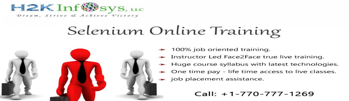 Book Online Tickets for Selenium Online Training with placement , johngreeks. H2kinfosys is one of the foremost training portal and marked as a brand all over the world, is because of providing trustworthy services with continuous hard work, dedication, and passion. We passionate about giving training along with high-quality s