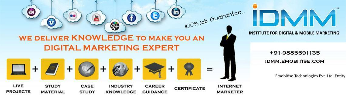 Certified Digital Marketing Training-Interview Guaranteed(Daily Sessions)