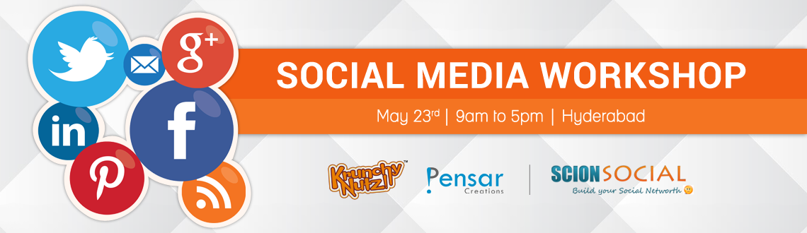 Book Online Tickets for SCION - Social Media Workshop 23rd May, Bengaluru. Learn Proven Social Media Marketing Strategies That Will Transform Your Business Online.