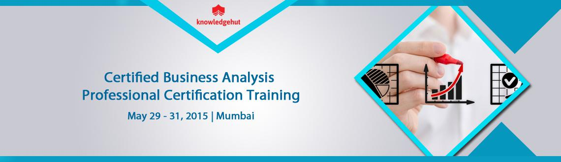 Certified Business Analysis Professional Certification Training in Mumbai, India