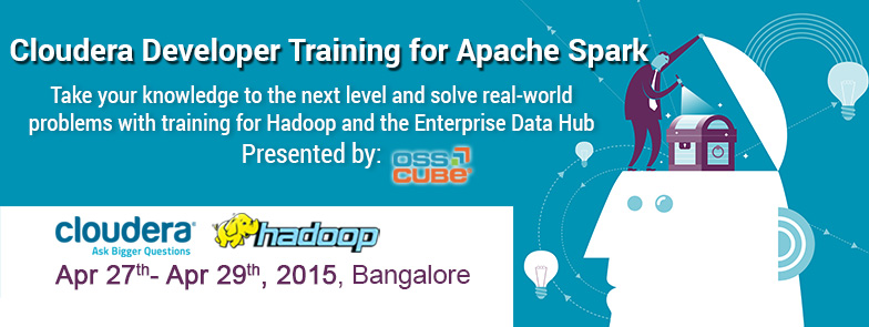 Book Online Tickets for Cloudera Developer Training for Apache S, Bengaluru. Take your knowledge to the next level and solve real-world problems with training for Hadoop and the Enterprise Data HubCloudera University's three-day training course for Apache Spark enables participants to build complete, unified Big Data ap