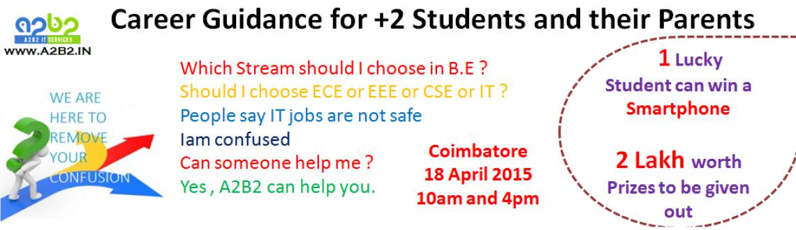 Career Guidance Programme for Plus 2