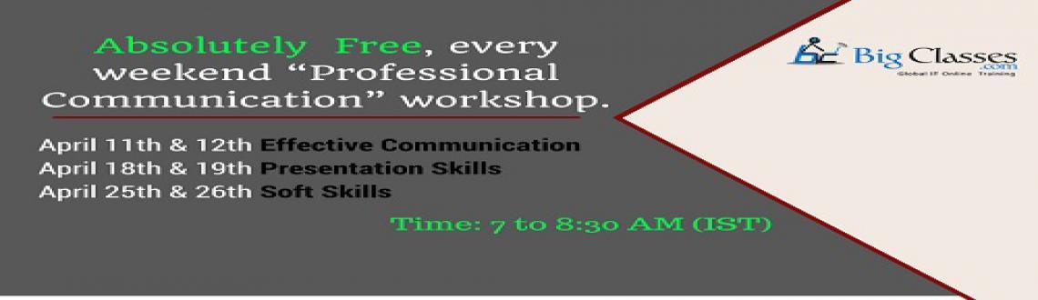 Free webinar on Professional Communication