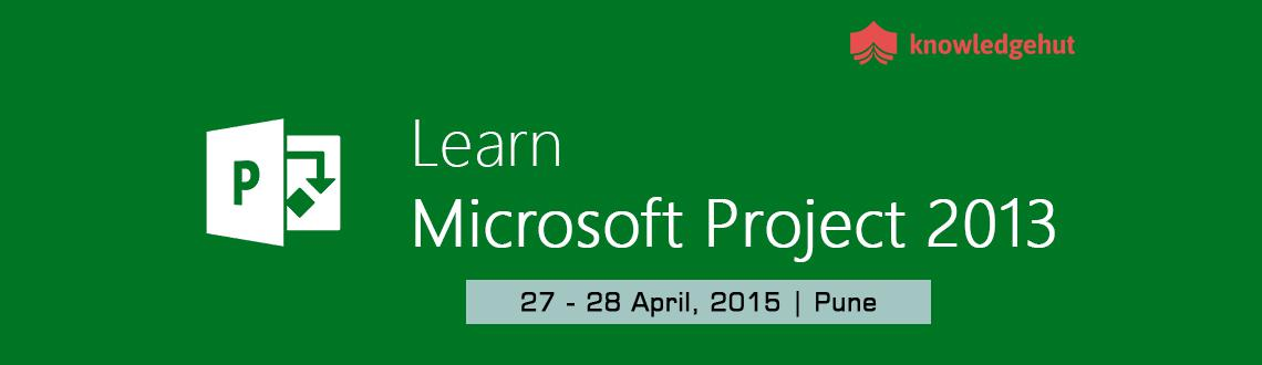 Microsoft Project 2013 Training in Pune, India