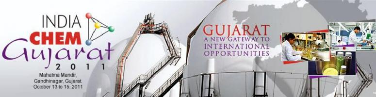 Book Online Tickets for India Chem Gujarat 201, 13-15 October 20, Gandhinaga. First edition of India Chem Gujarat i.e. India Chem Gujarat 2009  Exhibition and Conference was held in Ahmedabad with the  important  objectives of attracting investment and showcasing the strengths of  Chemicals industry in Gujarat as well as to cr
