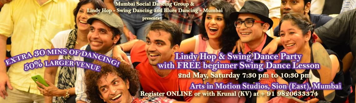 FREE BEGINNER SWING DANCE AND LINDYHOP LESSON with Swing (Lindy Hop) dance party