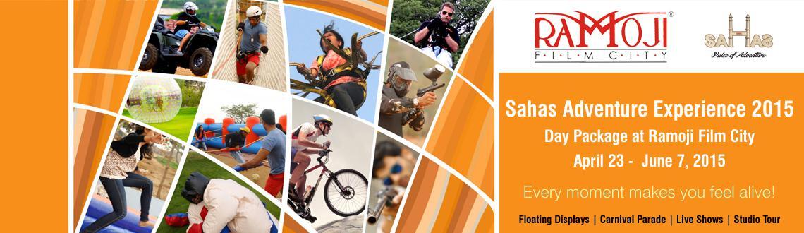 Sahas Adventure Experience 2015 - Noon Fiesta at Ramoji Film City