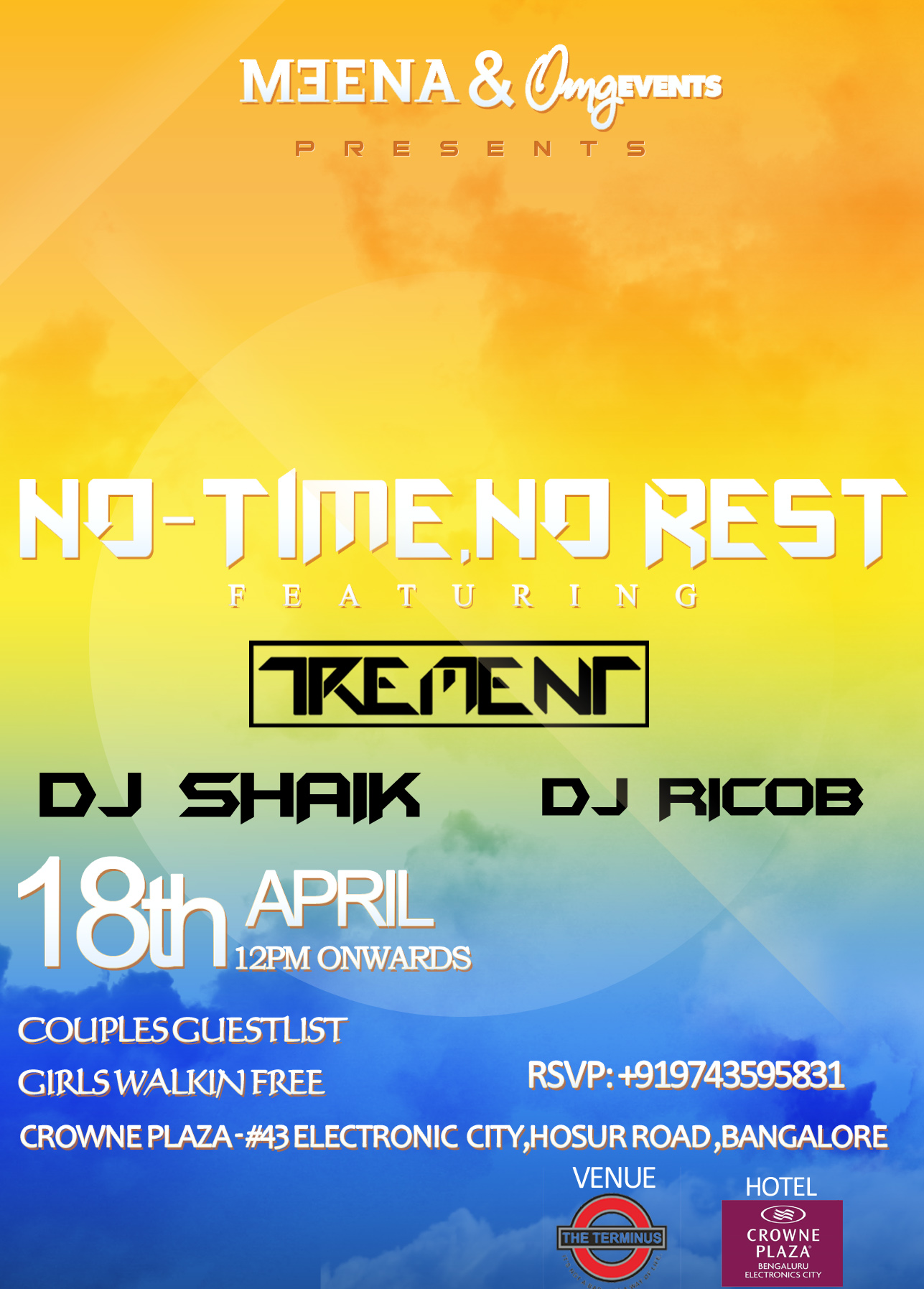 No Time-No Rest featuring TREMENT