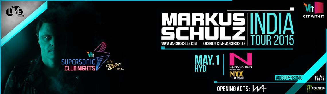 Markus Schulz India Tour with Vh1 Supersonic