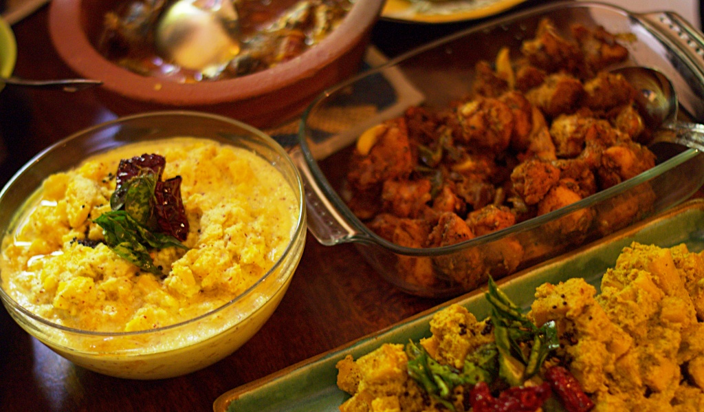 A Syrian Christian Seafood Binge with Poppadum