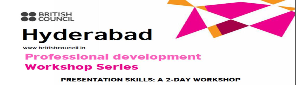 Professional Development Workshop Series : Presentation skills, a 2 day workshop