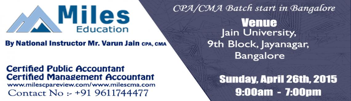 CPA /  CMA Batch Start In Bangalore
