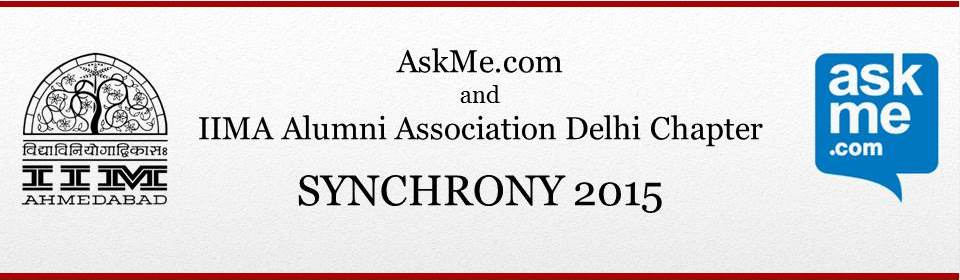 IIM Alumni Association - Synchrony 2015