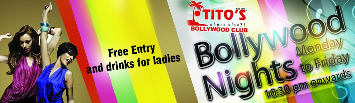 Book Online Tickets for Bollywood Nights, Baga. Tuesday, 21 April 2015, 10:30 PM onwards @ Club Titos