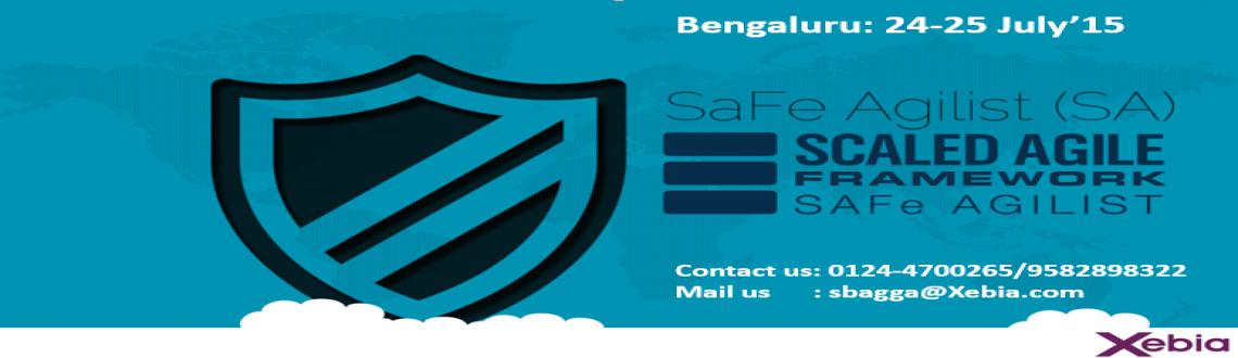 Book Online Tickets for SAFe Agilist (SA) | 24-25 July 2015 @ Be, Bengaluru. This SAFe Agilist certification program is for executives, managers and Agile change agents responsible for leading a Lean | Agile change initiative in a large software enterprise. It validates their knowledge in applying the Scaled Agile Framework,