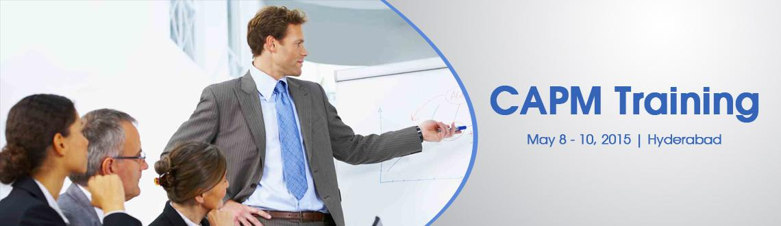 CAPM Training in Hyderabad - May, Fri 08, Sat 09, Sun 10