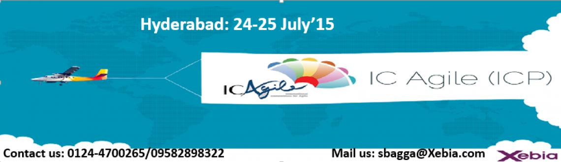 IcAgile Certified Professional Training| 24-25 July 2015 @ Hyderabad