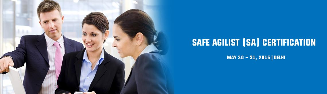 Book Online Tickets for SAFe Agilist (SA) Certification in Delhi, NewDelhi. Alliance Study provides certified training courses across the world. It\\\'s main target is to provide a best course training in all over the world