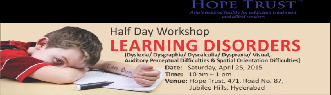 Half day workshop on Learning Disorders