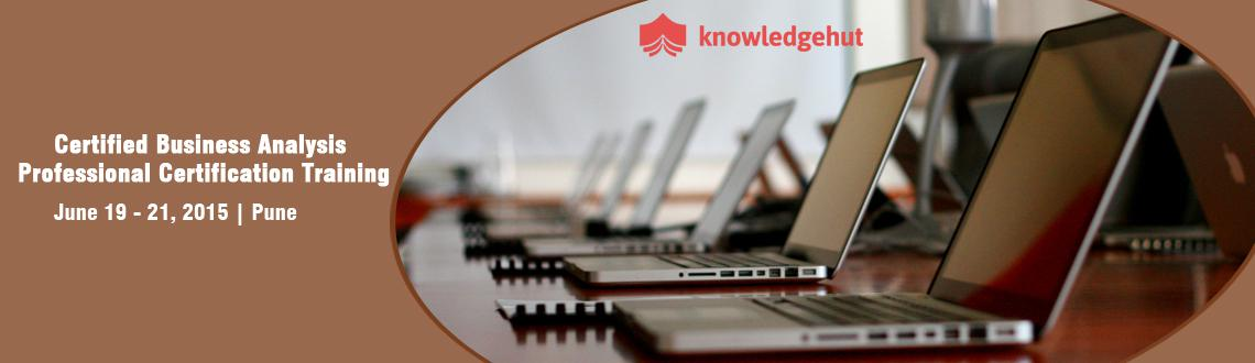 Book Online Tickets for Certified Business Analysis Professional, Pune.  Certified Business Analysis Professional® Certification Training in Pune, India  http://www.knowledgehut.com/business-management/cbap-certification-training-pune/551fa82c1e2a8   Course Overview:   In today&