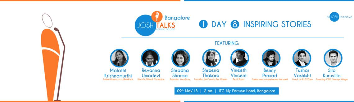 Josh Talks Bangalore