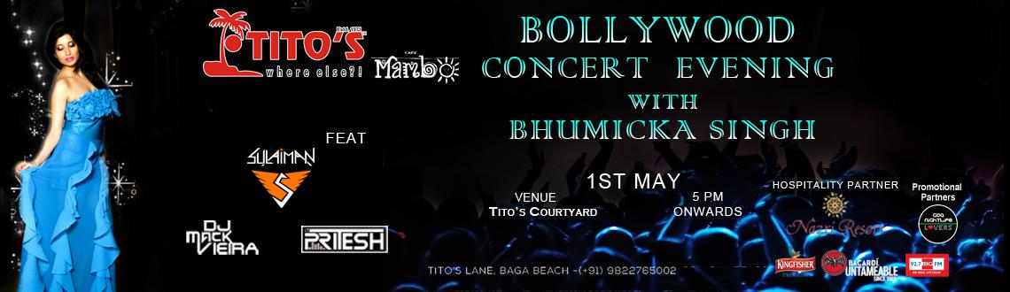 Bollywood Concert Night With Bhumicka Singh