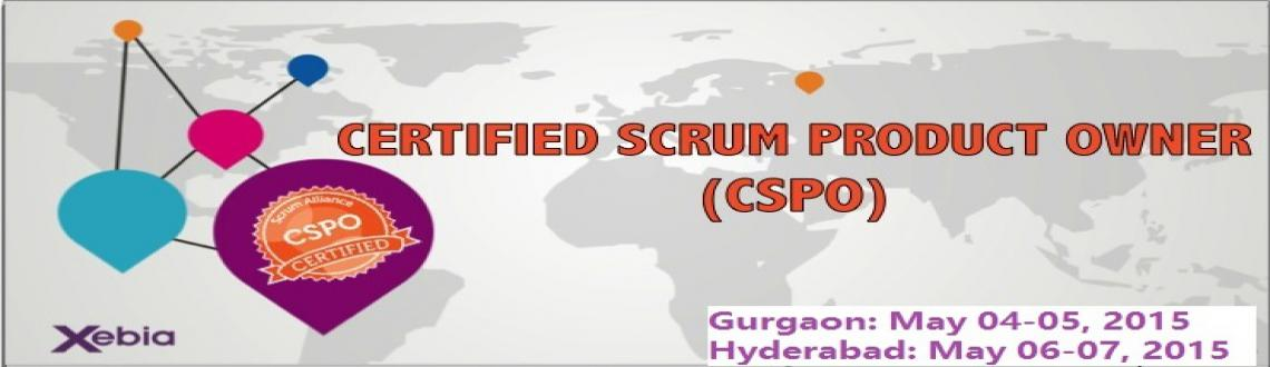 CSPO Training in Hyderabad on May 06-07, 2015