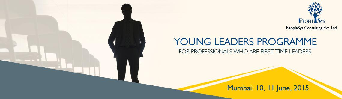 Book Online Tickets for Young Leaders Programme - Leadership Wor, Mumbai. 