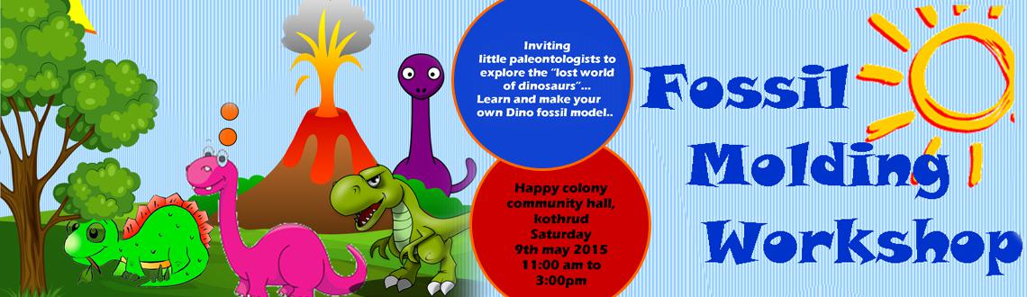 Book Online Tickets for CURIOUS EINSTEINS FOSSIL MOLDING WORKSHO, Pune. We had celebrated Earth Day in our last summer camp by making fossils and lot of fun activities with fossil. Kids had a fantastic time and hands on experience.