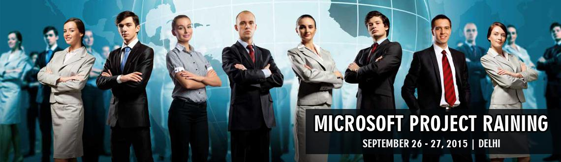 Microsoft Project (MS Project)  Training course