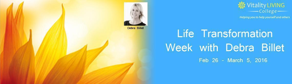 Life Transformation Week with Debra Billet India February 2016