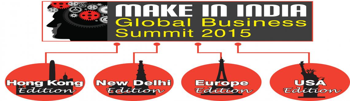 Make in India Global Business Summit 2015