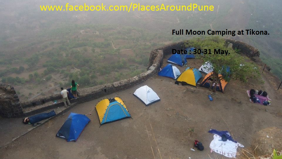 Full Moon Camping at Tikona