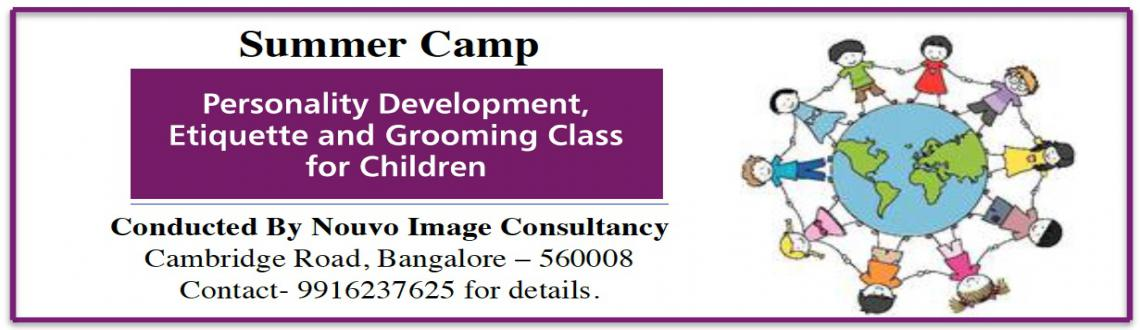Personality Development, Etiquette  Grooming class for Children