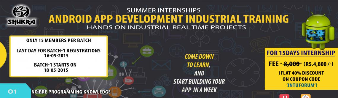 Android App Development Intensive Industrial Training